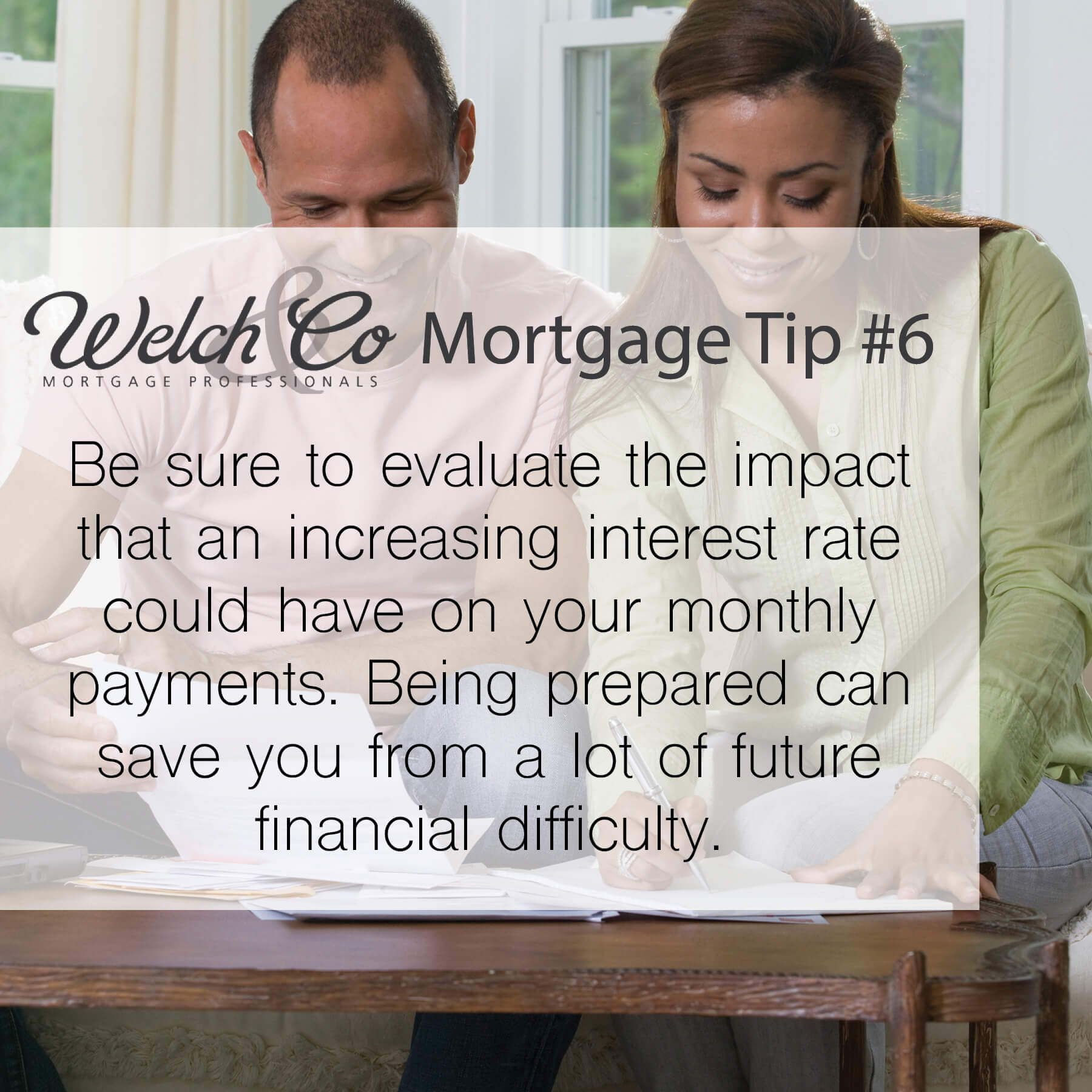 Mortgage Tip #6 - Welch & Co. Mortgage Professionals
